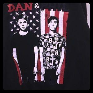 Danisnotonfire & AmazingPhil tour sweatshirt
